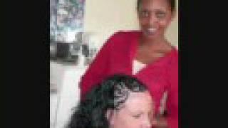 Annette's Designer Cornrows (half head)