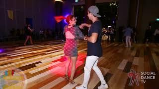 Ayaz & Esin - Salsa social dancing   EDF 2018
