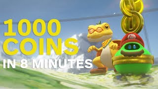 Super Mario Odyssey: How to Make 1000 Coins in 8 Minutes