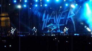 Slayer ft Phil Anselmo - Fucking Hostile (Pantera cover) @Plateia Nerou, Faliro 01/07/2013