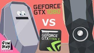 Gtx 1080 vs Titan X (Parody)