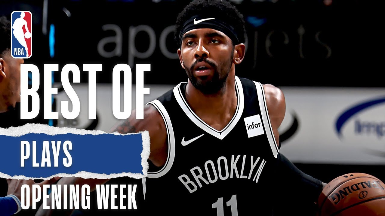 Best Plays from Opening Week | 2019-20 NBA Season