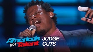 """Ryan Shaw: Singer Kills It With """"I Can't Make You Love Me"""" Cover - America's Got Talent 2015"""