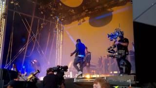 Gorillaz - Saturnz Barz ft Popcaan LIVE Demon Dayz Margate June 2017