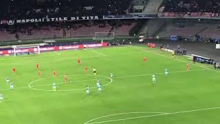 Napoli-Stella Rossa 3-1 live dalla Curva B