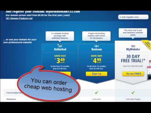 How To Get .COM Domain for Only $0.99