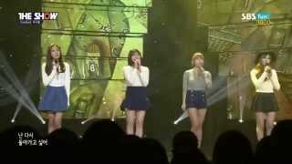 Sunny Hill - Child in Time live (Feb 3, 2015) (Comeback Stage)