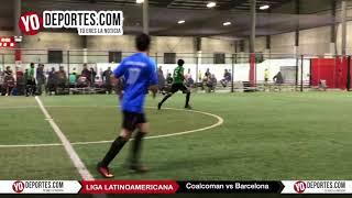 Coalcoman vs Barcelona Semifinal Liga Latinoamericana Jueves