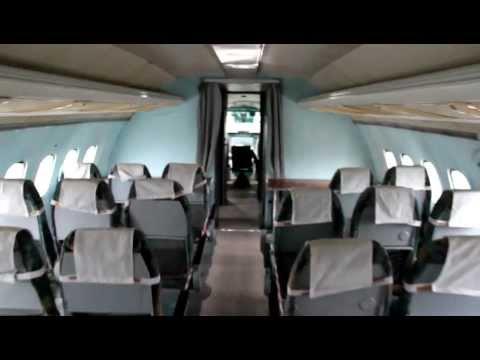 Tupolev Tu-154 Interior & Cockpit – Ukraine State Aviation Musuem