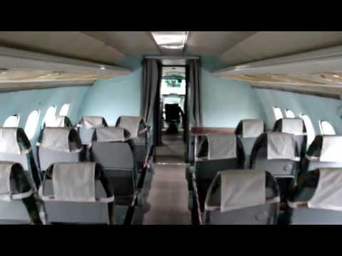 Tupolev Tu-154 Interior & Cockpit – Ukraine State Aviation Musuem