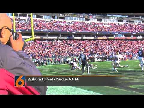 Auburn vs Purdue Highlights