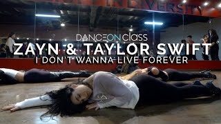 ZAYN & Taylor Swift - I Don't Wanna Live Forever (Fifty Shades Darker) | Brinn Nicole Choreography