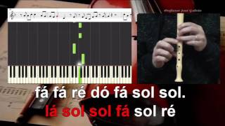 Stay - Rihanna - Educacao Musical - Notas para flauta - Jose Galvao