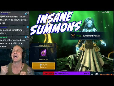 Crazy SUMMONS! Siphi, Hege, Krisk, all the big names Raid Shadow Legends