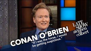 Conan O'Brien Didn't Ask David Letterman For A Horse