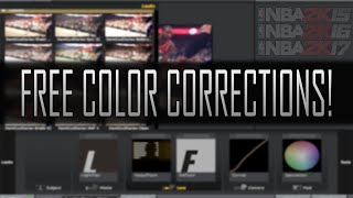 NBA 2k17: FREE CC PACK! (Color Corrections) Magic Bullet Looks