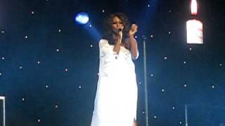 Alexandra burke...Hallelujah live @ Nottingham royal concert hall.31/01/11.
