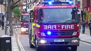 London Fire Brigade Responding - G361 G362 Hammersmith