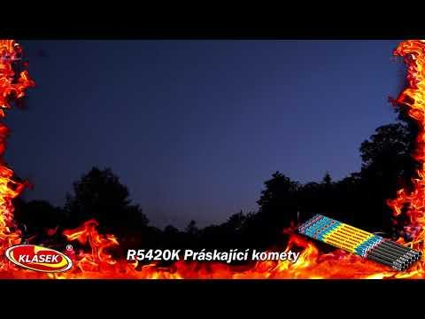 Pyrotechnika Římská svíce Práskající Kometa 20ran 54cm 1ks