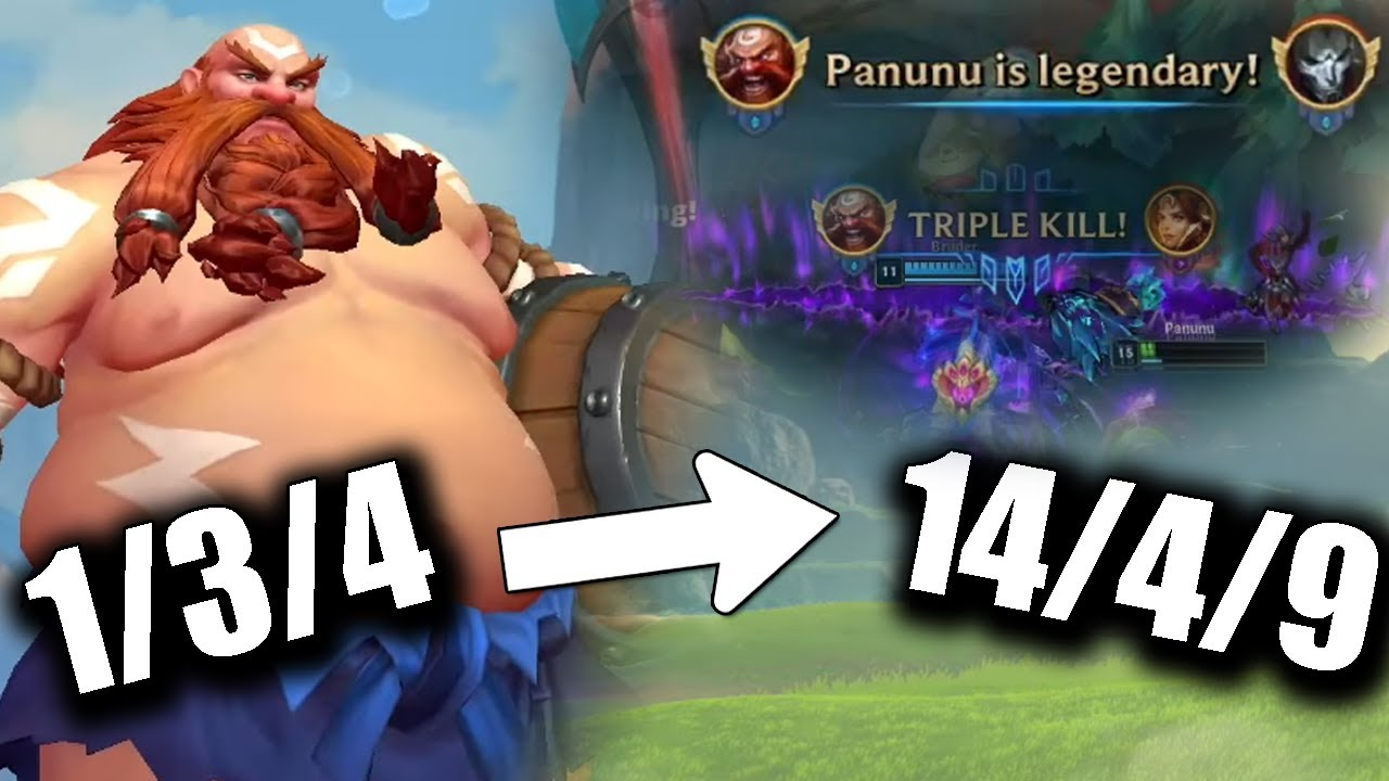 PanunuLoL - From Feeding to Carrying, This Is How You Do It!   Panunu