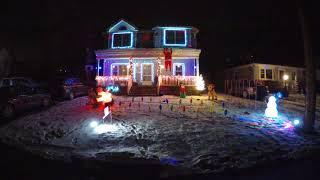 Christmas in Hollis - sLIGHTSburg Animated Light Display