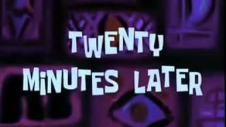 Spongebob 20 Minutes Later Timecard