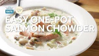 How to Make Easy, Creamy One-Pot Salmon Chowder