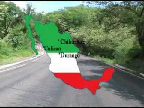 Mexico Highways Motorcycle Motocicleta Aventura Películas