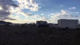 RTR BobWells 2017 Jan 14 Quartzsite Arizona - Campsite
