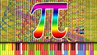"""[Black MIDI] Synthesia - """"Pi"""" π/3.14 MILLION (3,141,592) ~ TheSuperMarioBros2"""