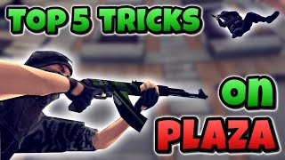 Critical Ops | Top 5 Tricks on Plaza