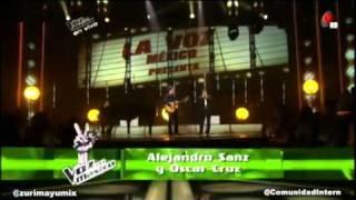 Piano Man - Alejandro Sanz - Oscar Cruz - La Voz México