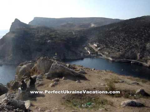 Ukraine Vacations – Crimea – View of Balakclava & Black Sea