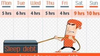 Sleep Debt Here's How to Catch Up on Lost Sleep