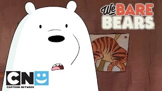 We Bare Bears | Ice Bear Moments | Cartoon Network