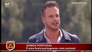 Johnny Abreu - Quero-te Baby no Somos Portugal na TVI em Valpaços