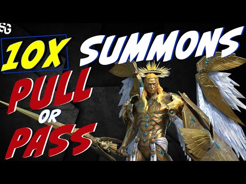 10x PULL or PASS this weekend summon event Raid Shadow Legends