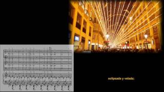 «O fortuna», Carmina Burana. Carl Orff. Calle Larios, Málaga. Navidad 2016