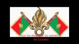 Le Boudin chant de la Légion Etrangère