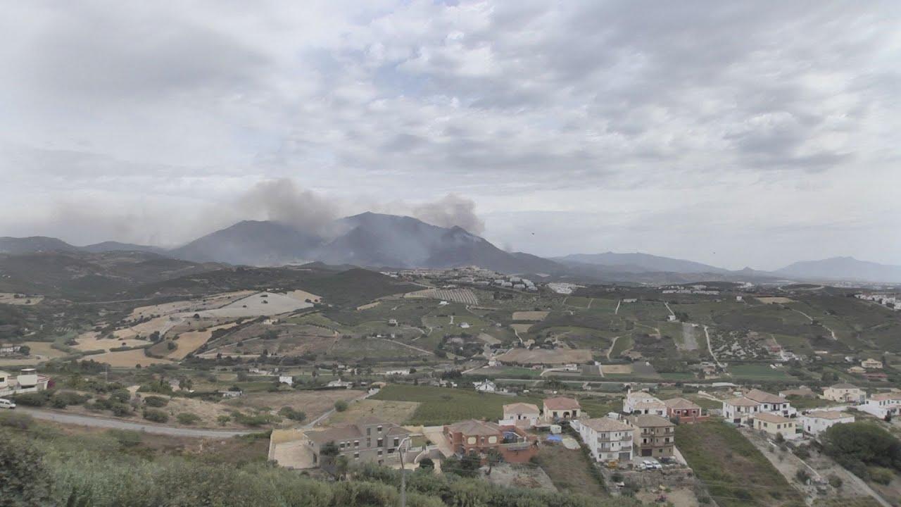 Recogida de alimentos y bebidas por el incendio de Sierra Bermeja