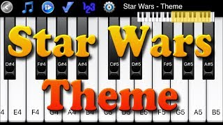 Star Wars Theme - How to Play Piano Melody