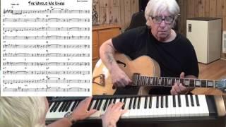 The World We Knew - Jazz guitar & piano cover ( Bert Kaempfert )