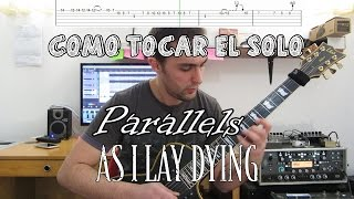As i lay Dying Parallels Solo Tutorial | Aitor Epas Solo 13