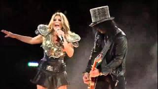 Black Eyed Peas ft. SLASH   Sweet Child O' Mine Live Super Bowl XLV 2011 HD