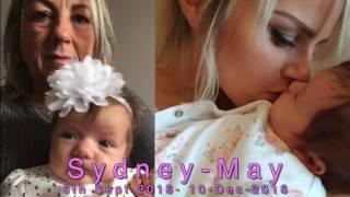 """Kellyanne sings """"Dancing in the Sky"""" in memory of Sydney-May Burge 6/9/16 - 10/12/16"""