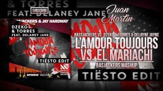 El Mariachi vs L'amour Toujours (Bassjackers Mashup) [SLAM!Koningsdag 2017]