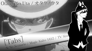 Magic Kaito OP 2 - Ai No Scenario「Guitar Tabs」【HarryVini】