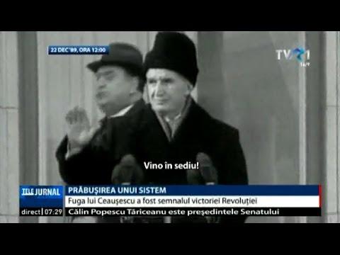 22 decembrie 1989 - Ceauşescu fugea cu elicopterul de pe acoperişul CC