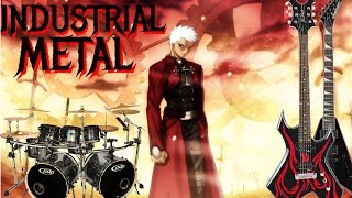 Fate/Stay Night: Unlimited Blade Works OP - ideal white (Industrial Metal Cover)
