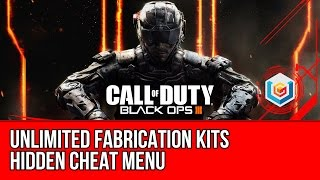 Call of Duty Black Ops 3 - Unlimited Fabrication Kits & Unlock Nightmares Mode (Hidden Cheat Menu)